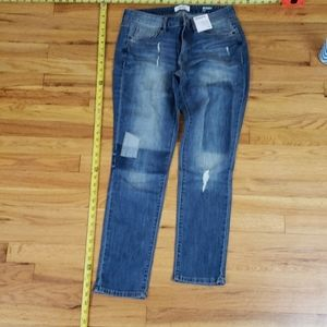 Brand new size 10 ladies jeans skinny mid-rise